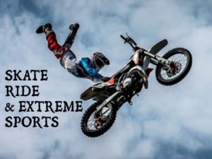 Skate Ride and Extreme Sports